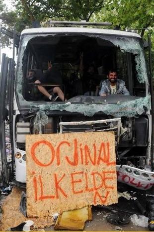 GEZİ PARKI'NDAN GERİYE KALANLAR 32