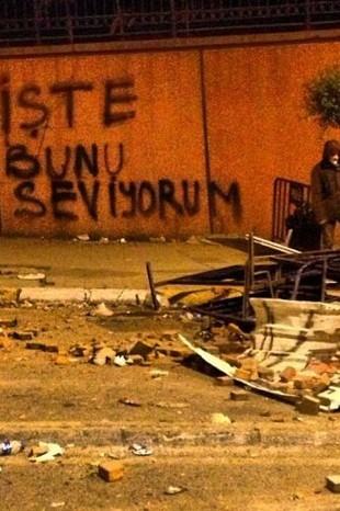 GEZİ PARKI'NDAN GERİYE KALANLAR 38
