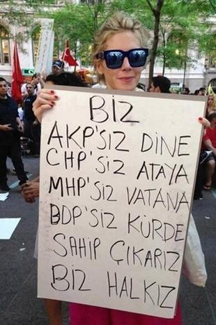 GEZİ PARKI'NDAN GERİYE KALANLAR 4