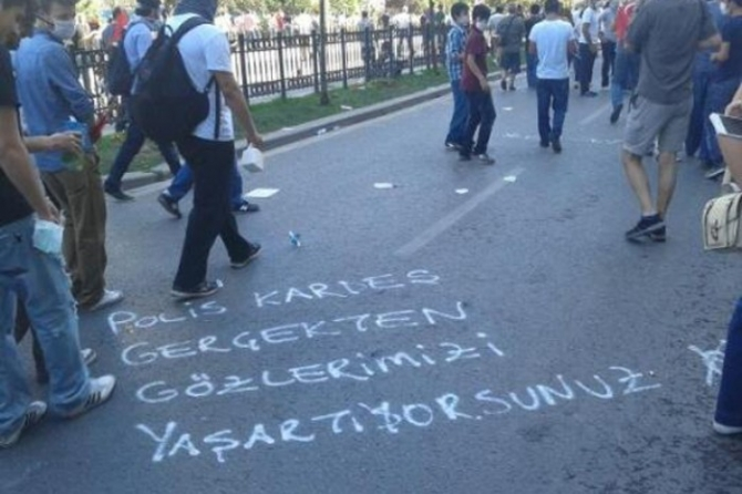 GEZİ PARKI'NDAN GERİYE KALANLAR 47