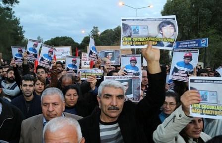 BERKİN ELVAN'IN ÖLÜMÜ LEFKOŞA'DA DA PROTESTO EDİLDİ 1