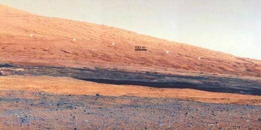 CURİOSİTY'NİN MARS'TAN ÇEKTİĞİ FOTOĞRAFLAR 25
