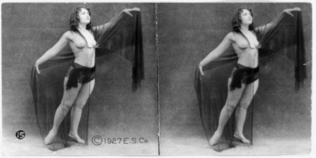 1920'LERDE EROTİK FOTOĞRAFLAR 1