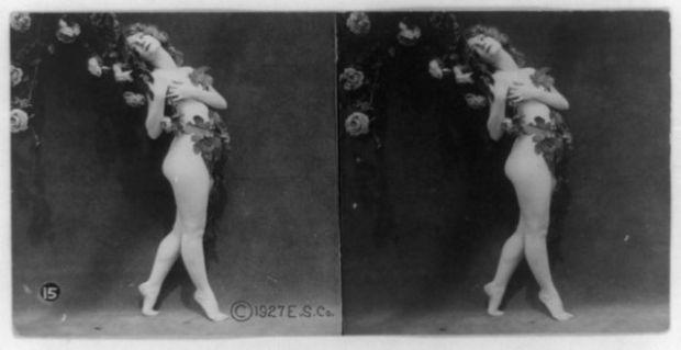 1920'LERDE EROTİK FOTOĞRAFLAR 10
