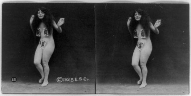 1920'LERDE EROTİK FOTOĞRAFLAR 5