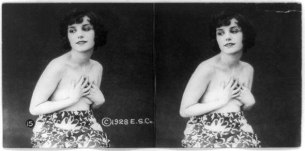 1920'LERDE EROTİK FOTOĞRAFLAR 8