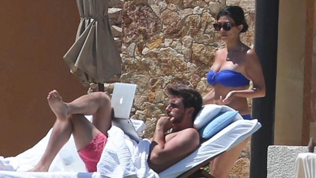 KOURTNEY KARDASHİAN SCOTT DİSİCK TATİLDE 1