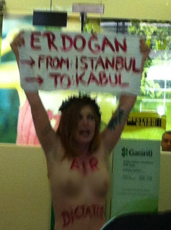 FEMEN İSTANBUL'DA 1