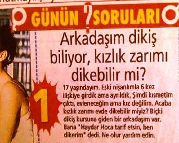 HAYDAR DÜMEN'E ÖYLE BİR SORU SORDU Kİ... 1