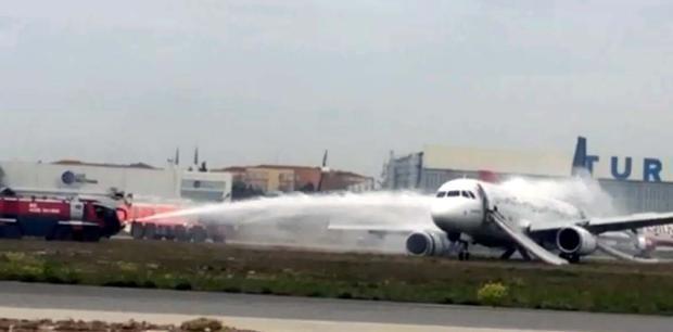 THY uçağındaki yolcular Yaşadığımıza şükrettik 13