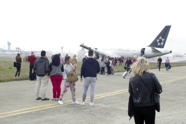 THY uçağındaki yolcular Yaşadığımıza şükrettik 24