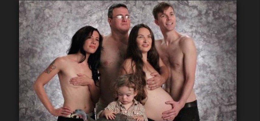 Utandıran hamilelik fotoğrafları! 1