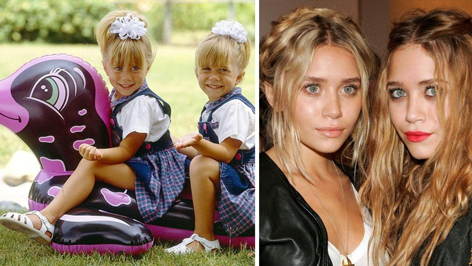 BİR ELMANIN İKİ YARISI ASHLEY VE MARY-KATE OLSEN KARDEŞLER 1