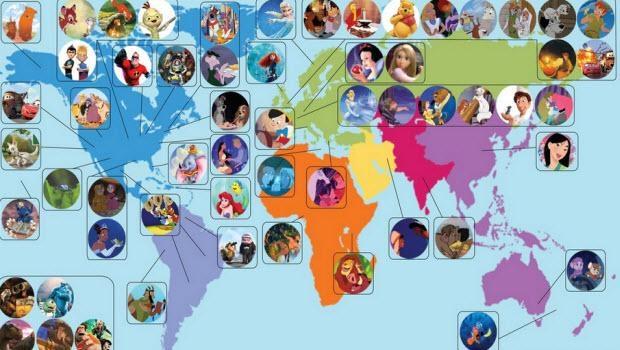 Ünlü animasyon filmleri dünyanın neresinden 1