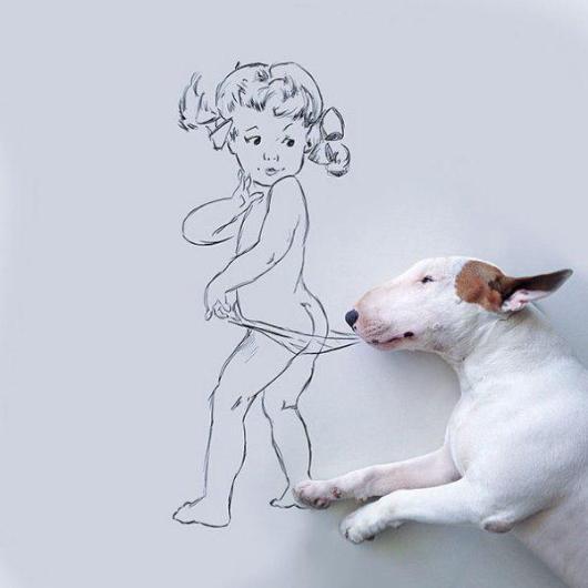 Terk edilince köpeğine bunu yaptı, fenomen oldu! 1