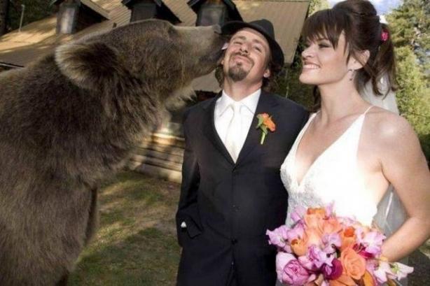 Böyle düğün fotoğrafı gördünüz mü? 1