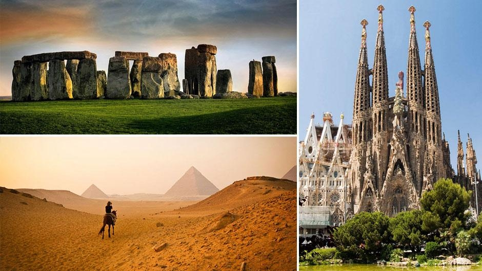 Dünyanın en ünlü yerlerinin çevresi 1
