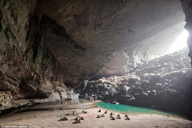 Vietnam'da inanılmaz bir mağara 1