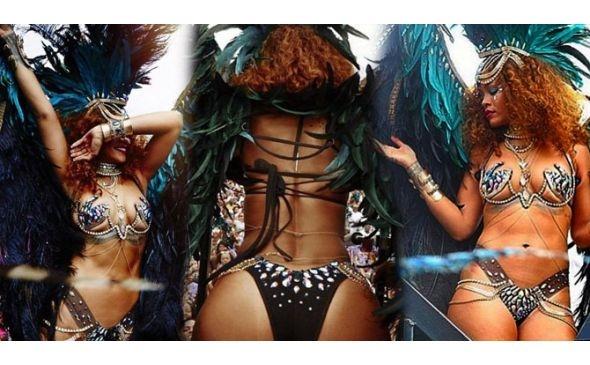 Rihanna yine coştu 1