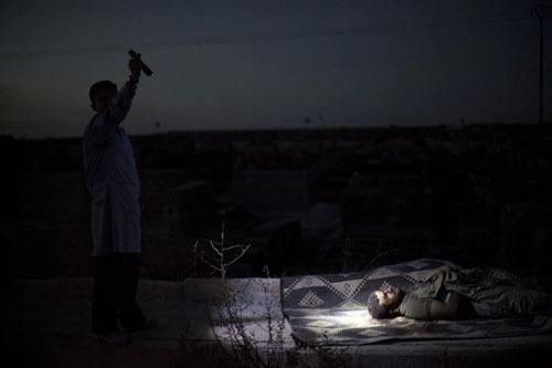 PULİTZER'DE FOTOĞRAF ÖDÜLLERİ SURİYE'DE ÇEKİLEN KARELERE GİTTİ 7