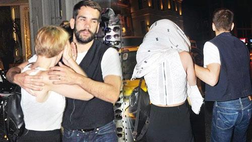 Ünlü oyuncu, İstanbul'da öyle bir halde yakalandı ki... 1