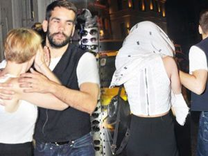 Ünlü oyuncu, İstanbul'da öyle bir halde yakalandı ki...