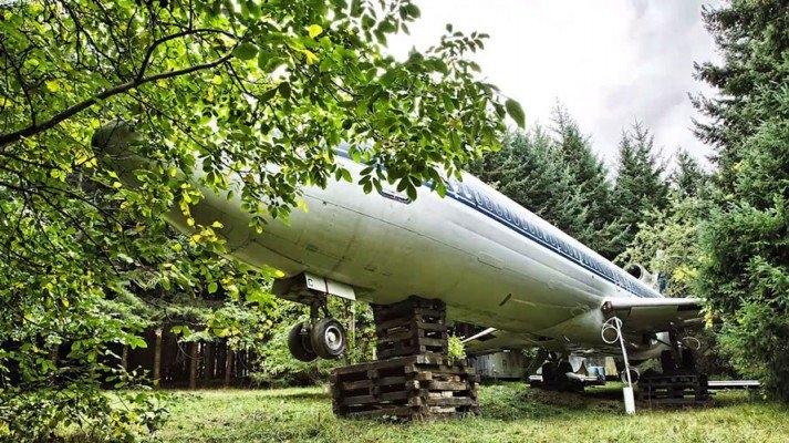Boeing 727'den ev yaptı 1