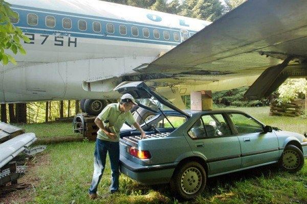 Boeing 727'den ev yaptı 17