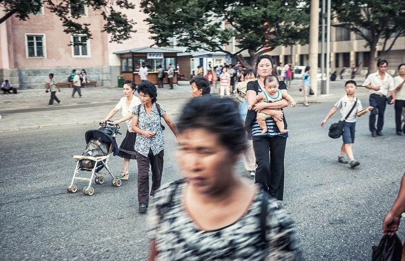 KUZEY KORE'NİN GİZLİCE ÇEKİLMİŞ FOTOĞRAFLARI 1