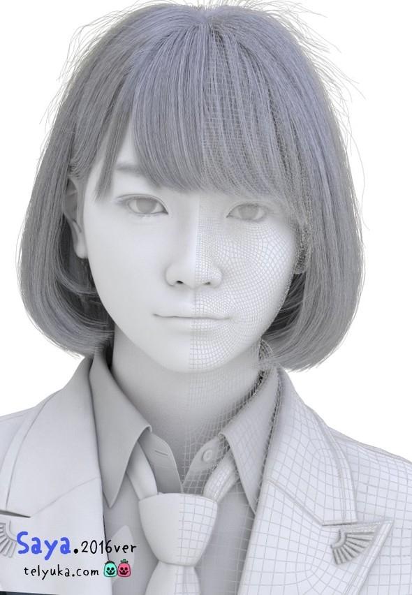 'HİPER REALİSTİK' JAPON KIZI İNTERNETİ SALLADI 4