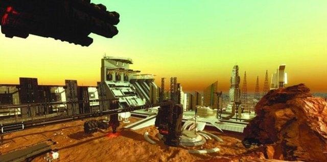 BİRLEŞİK ARAP EMİRLİKLERİ MARS'A ŞEHİR KURACAK 1