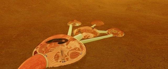 BİRLEŞİK ARAP EMİRLİKLERİ MARS'A ŞEHİR KURACAK 4