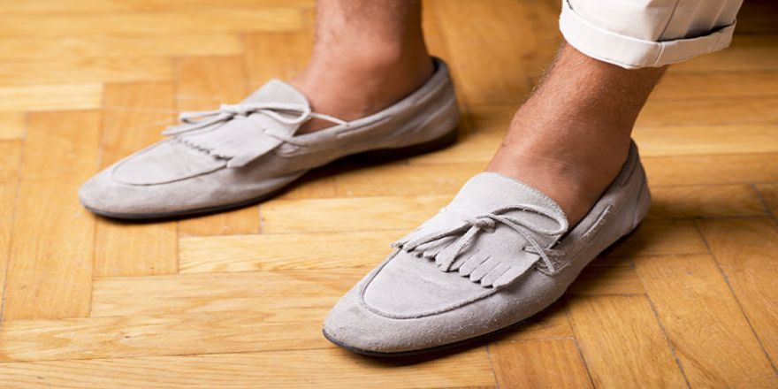 Çorapsız ayakkabı giymeyin!