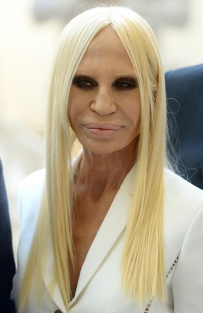 Donatella Versace'nin inanılmaz değişimi 1