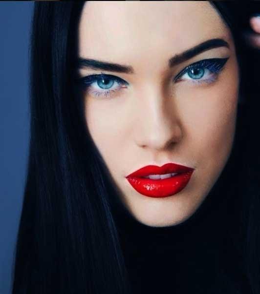 Adriana Lima'nın tahtına göz diken Rus güzel 2