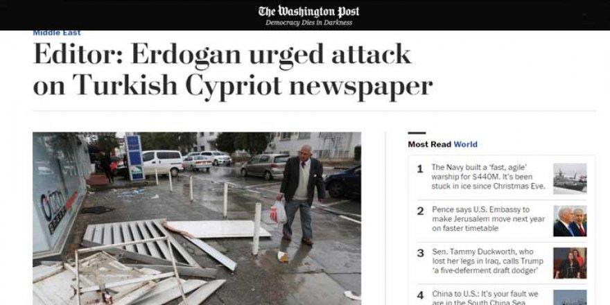 Afrika Gazetesi'ne saldırı dünya basınında