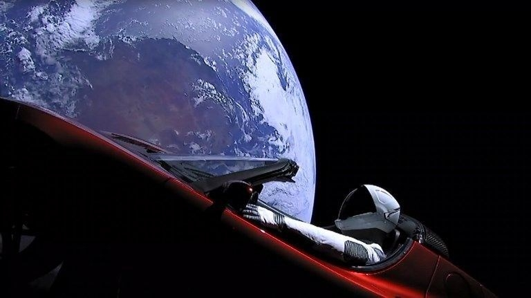 Uçan otomobil Mars'ı ıskalayacak 1