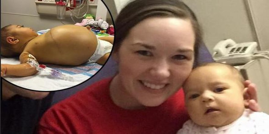 Kızının midesi giderek büyüyordu... Doktor şok gerçeği açıkladı