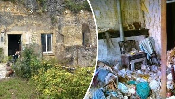 1 Euro'ya aldıkları evi saraya dönüştürdüler! Çöplük içindeydi.. 1