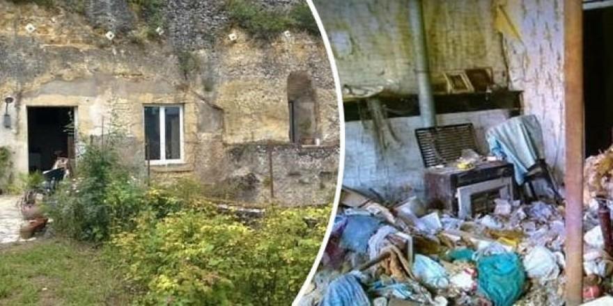 1 Euro'ya aldıkları evi saraya dönüştürdüler! Çöplük içindeydi..