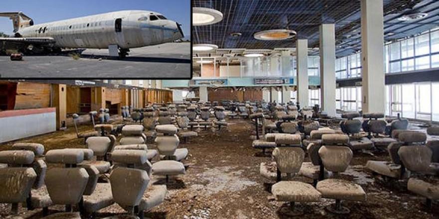 44 yıldır tek uçak inmiyor... Kıbrıs'ın hayalet havalimanı
