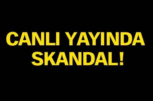 CANLI YAYINDA SKANDAL! 1