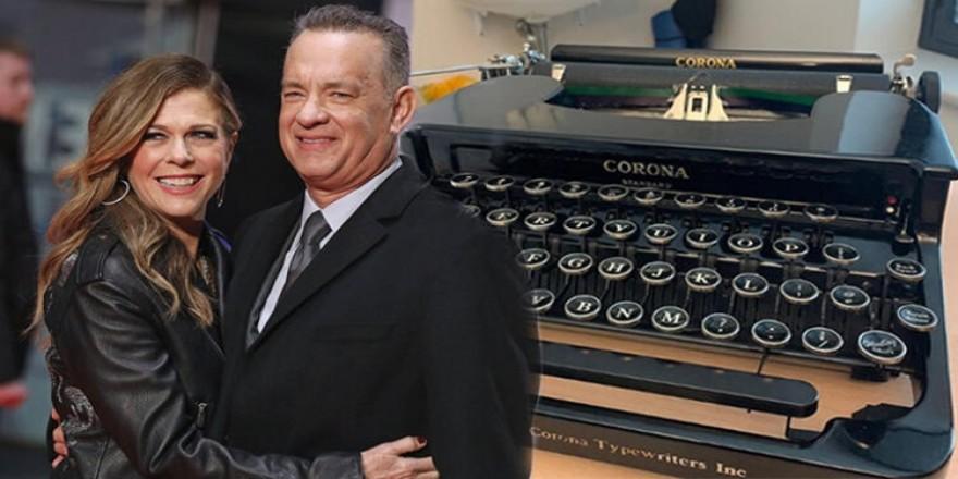 Tom Hanks'ten esprili corona virüs paylaşımı