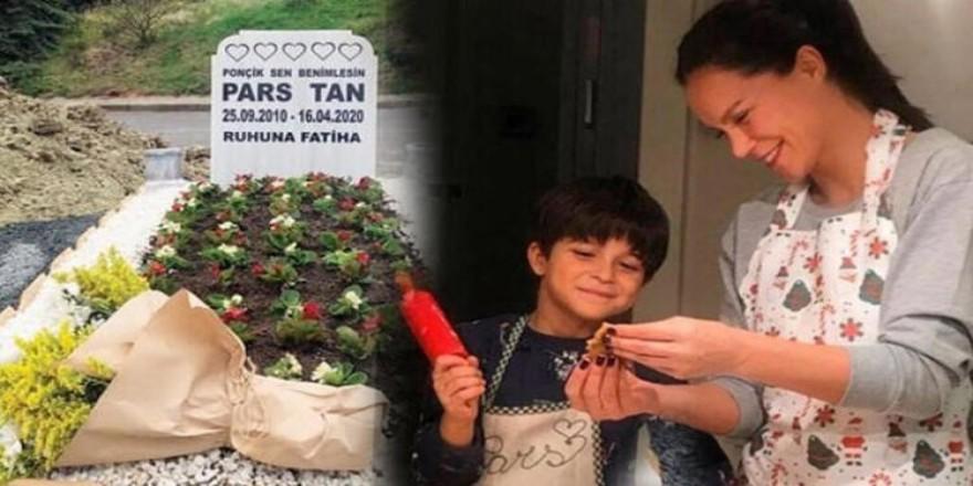 Ebru Şallı'nın oğlu Pars'ın mezarı taşınacak
