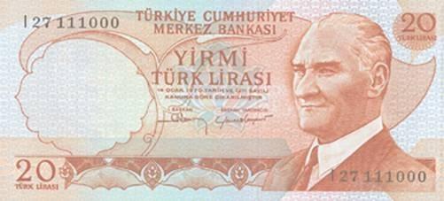 TEDAVÜLDEN KALKMIŞ TÜRK LİRALARI 8