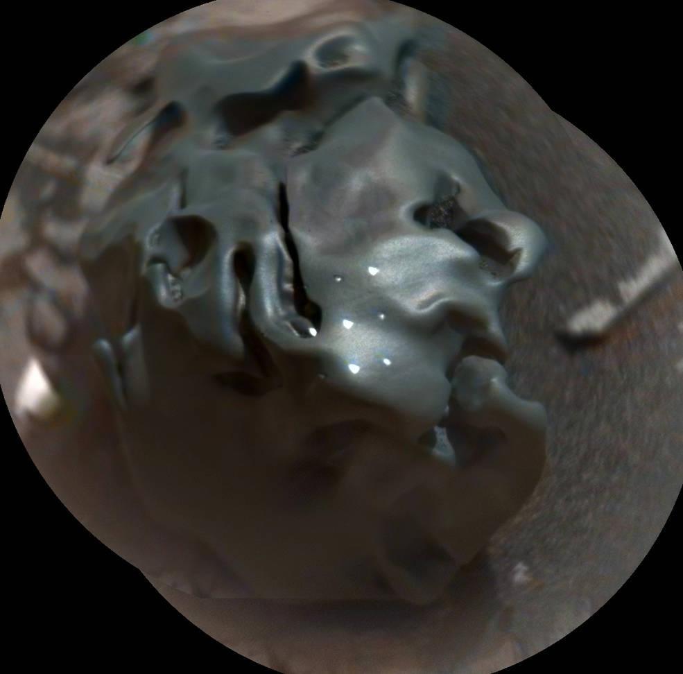 Dünya Mars'tan gelen bu görüntüyü konuşuyor