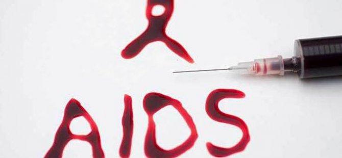 AIDS TESTİ YAPTIRIN!
