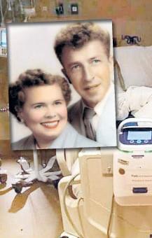 Onları ölüm bile ayıramadı! 64 yıllık çift...