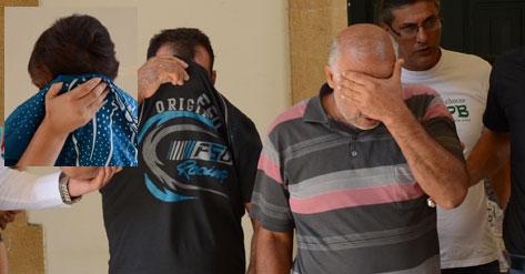 GÜNEY'DEN KAÇAK YOLLA ARAÇ GETİRİP PARÇALAYIP MISIR'A GÖNDERİYORLAR