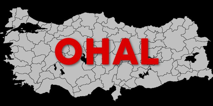 Türkiye'de OHAL 3 ay daha uzatıldı